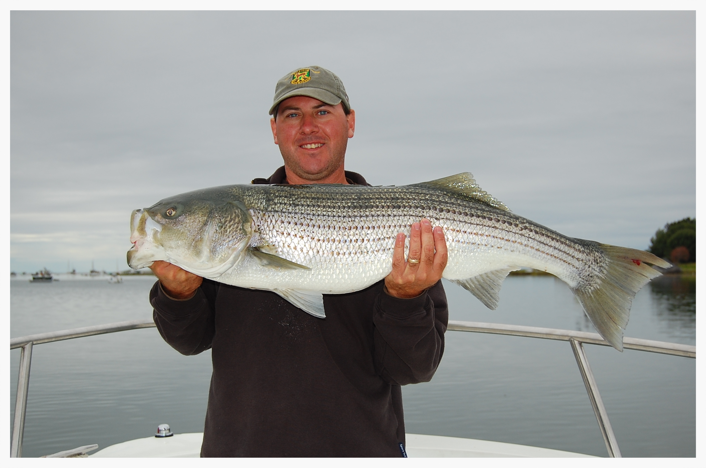 Striper Fishing Charters - Kennebunkport, Maine