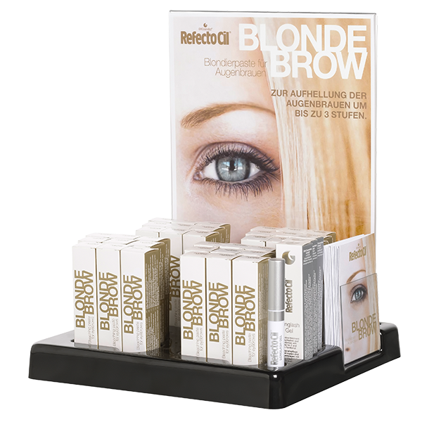 Shelf Display Blonde Brow