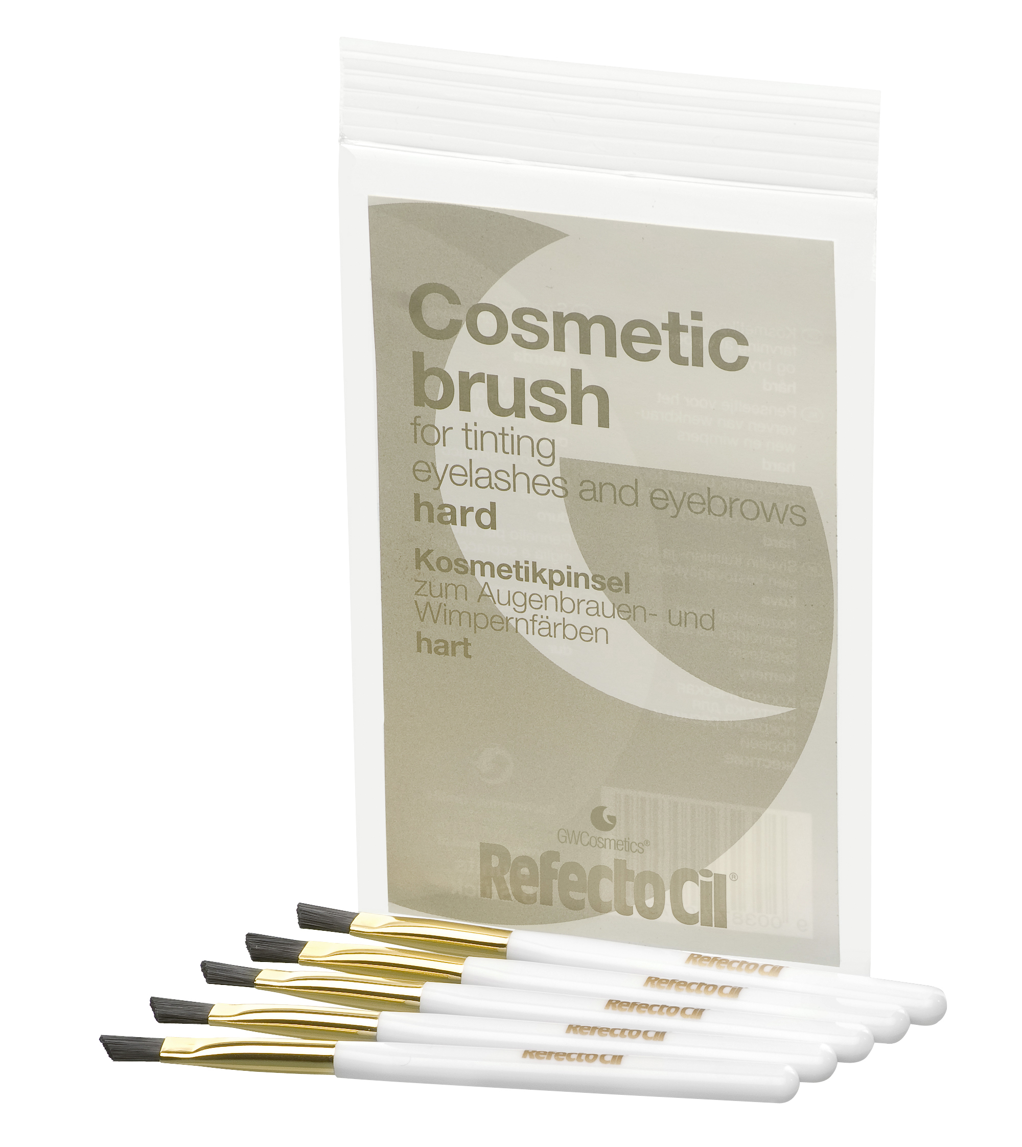 Cosmetic Brush - Gold/Hard