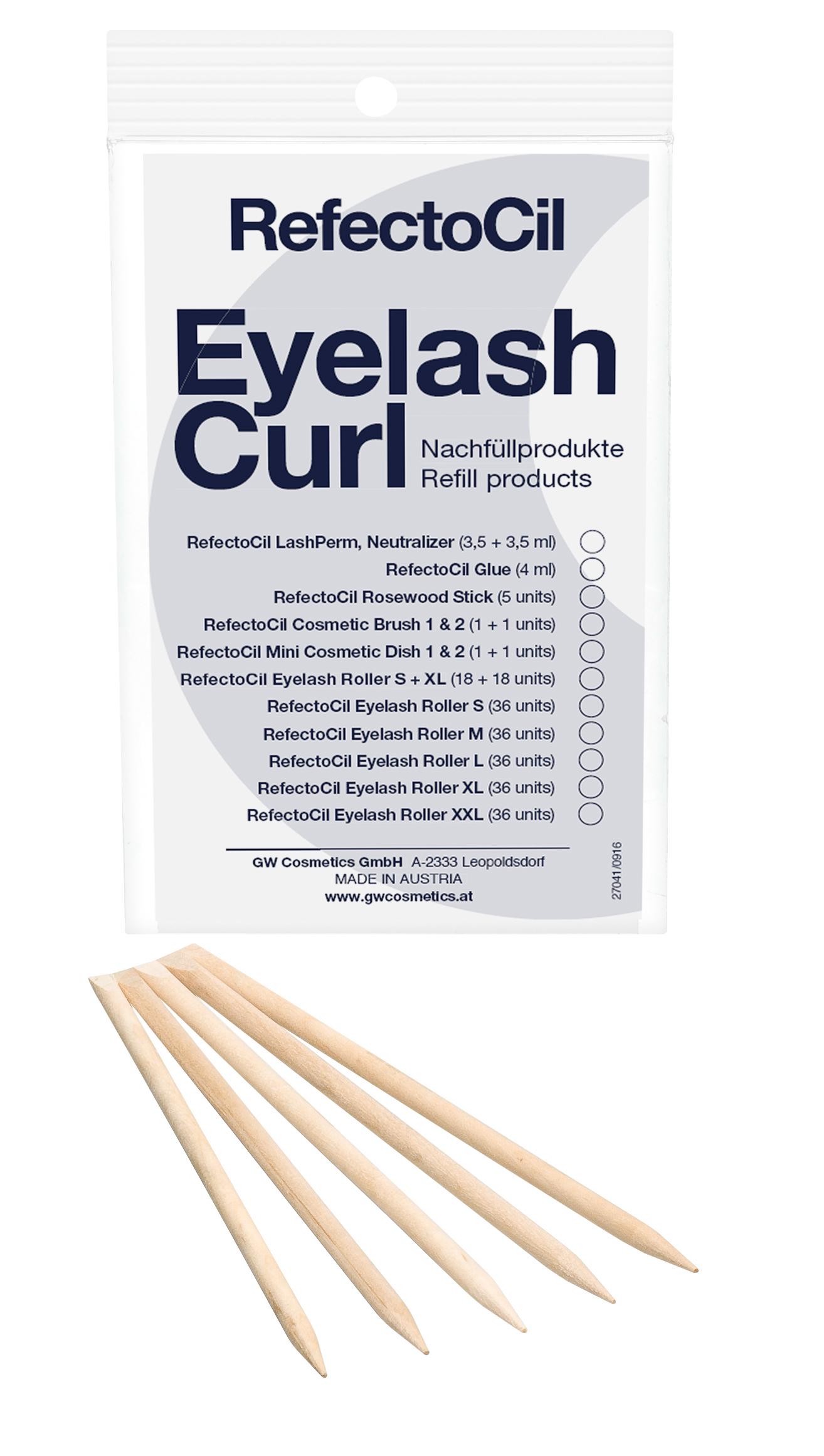 Eyelash Curl Refill - Rosewood Sticks