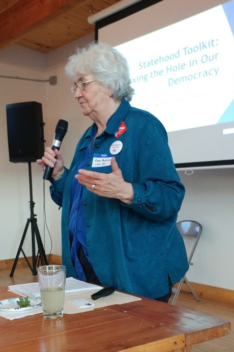 Anne Anderson presents the Statehood Toolkit Slideshow in Colorado