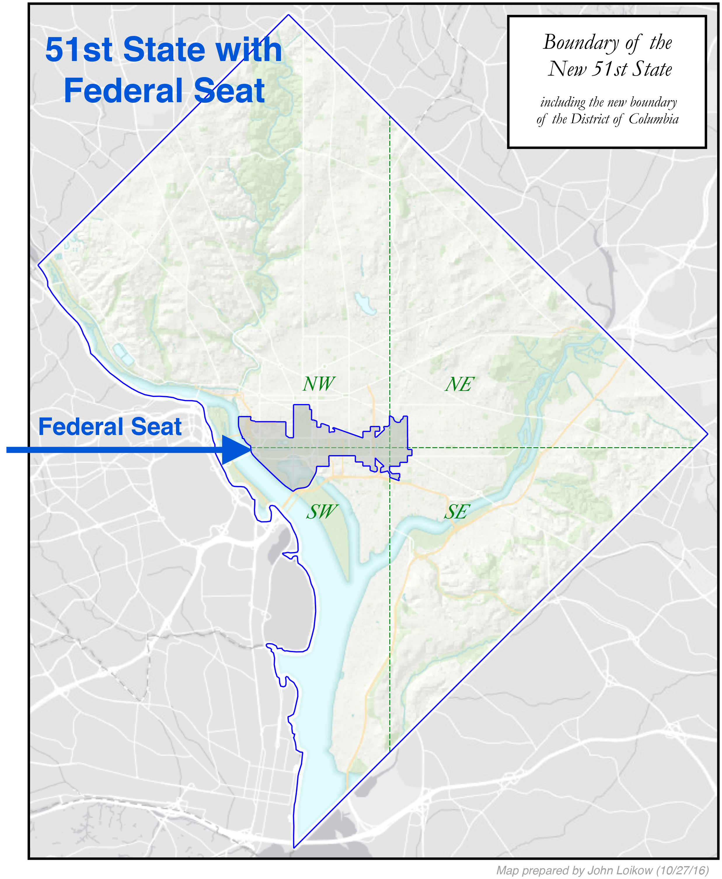 Proposed Boundaries — League of Women Voters of the District ... on