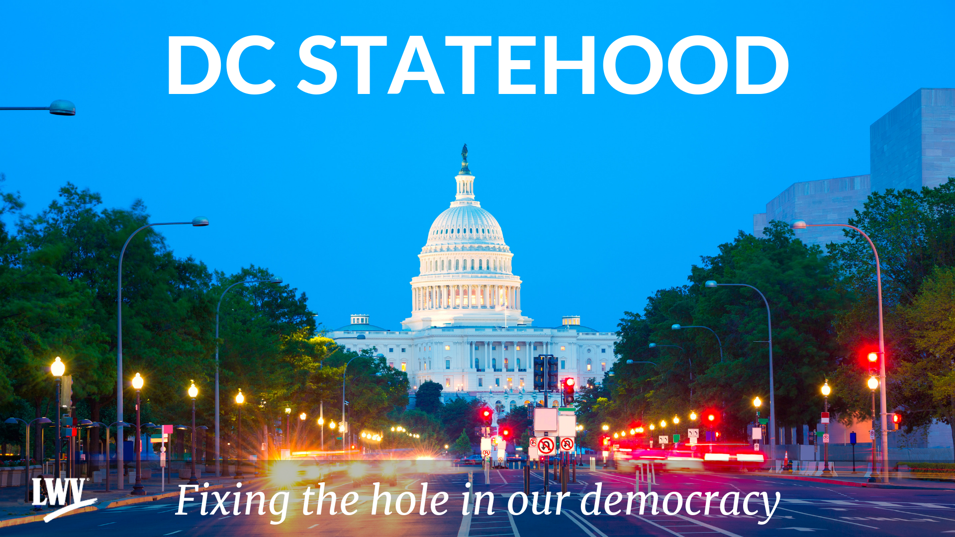 DC Statehood photo for a Facebook Event. - Facebook Events have different size requirements than a general Facebook post. If you are hosting us for a presentation or holding one of your own, this image should work well for your Event Page.Right click to save the image.