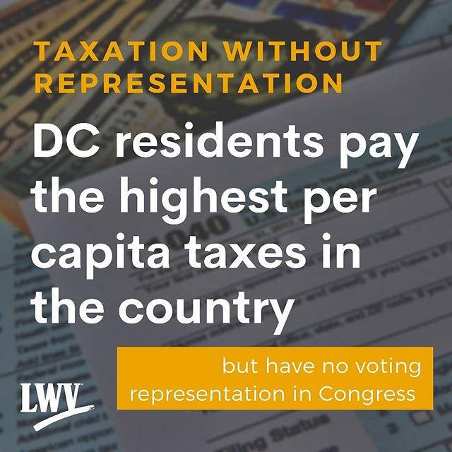 DC residents fulfill their responsibilities as US citizens including paying taxes and serving in the military. But we aren't granted the full rights is citizenship. We can fix this.  It's time for #DCStatehood.