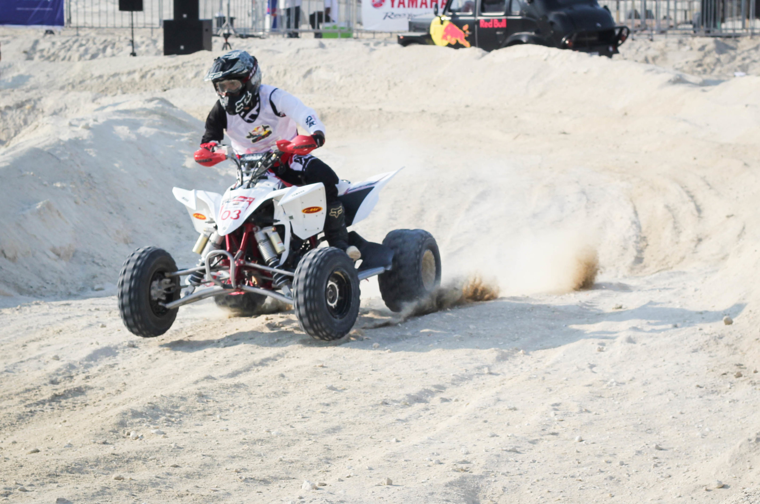 Red Bull Bar Bahr Bahrain Quad Biker