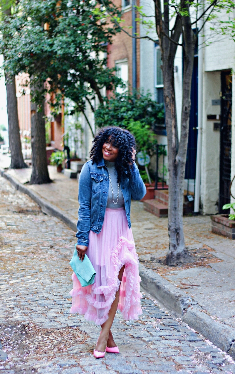 Style & Poise: Pink Ruffles