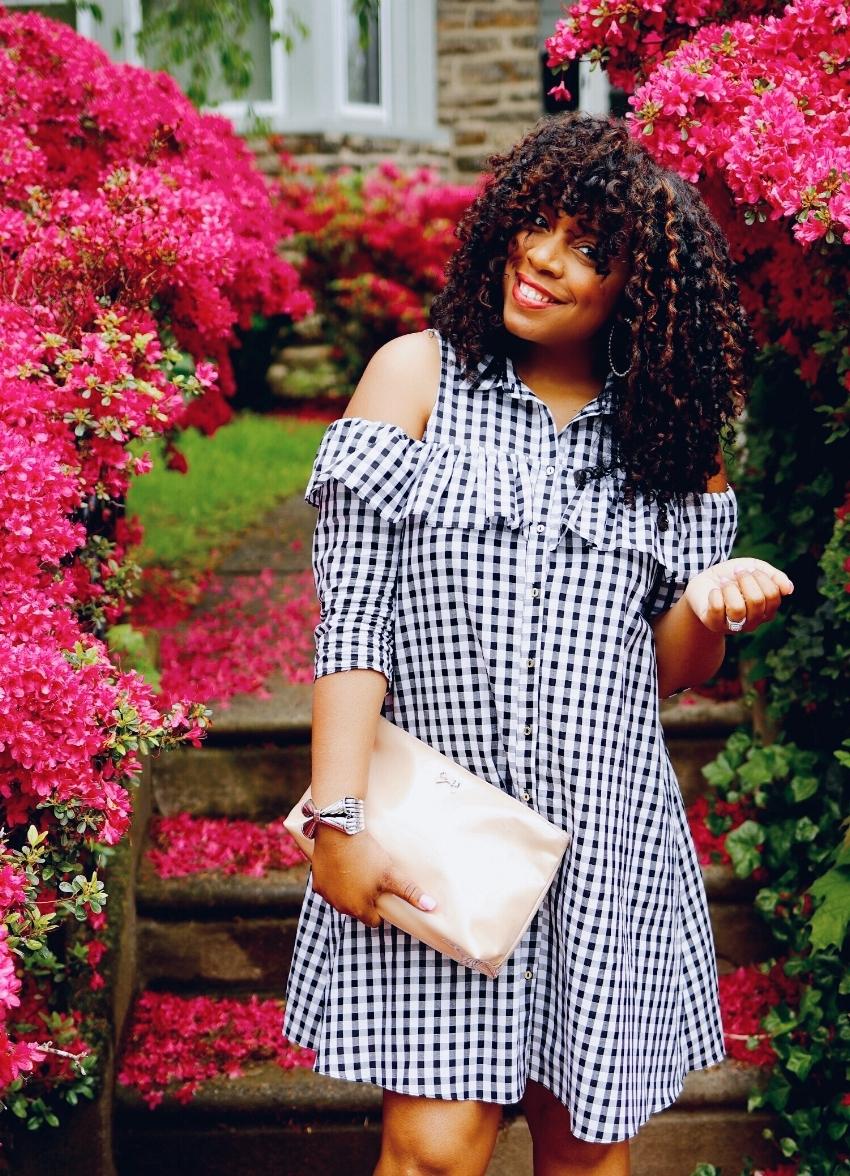 Style & Poise: Gingham Dress