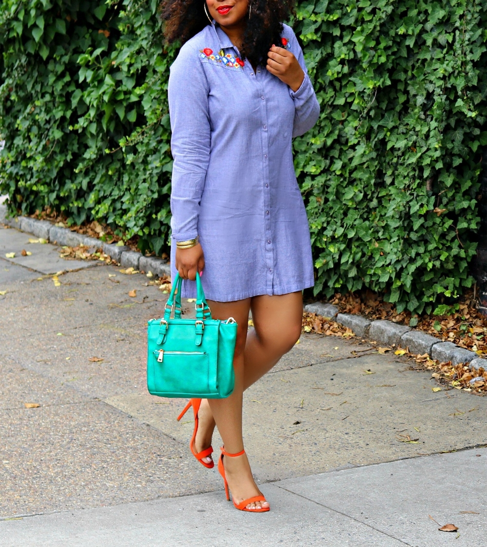 How to Style an Embrodiered Dress