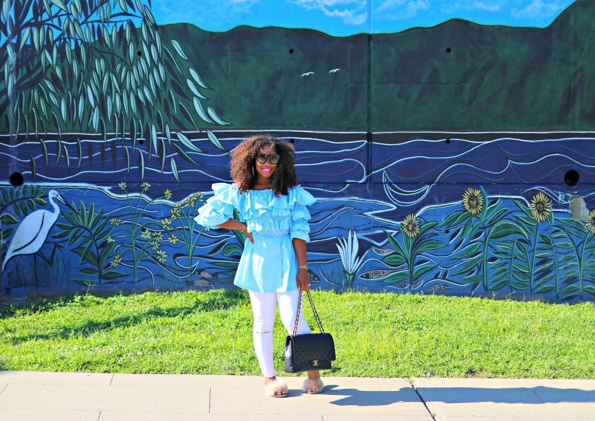 How to Slay the Ruffle Trend