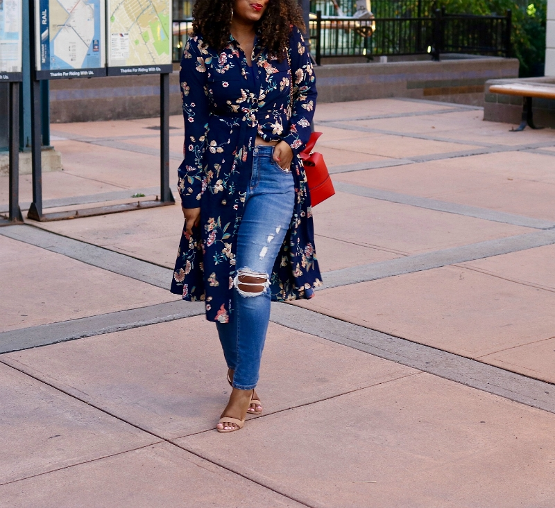 Fall Style, Fall Florals, Dress as a Top