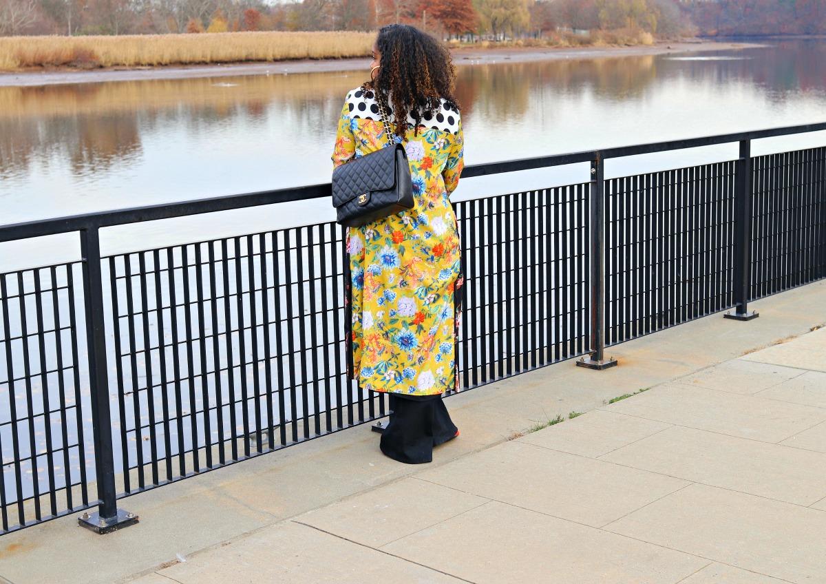 Print Mixing Kimono