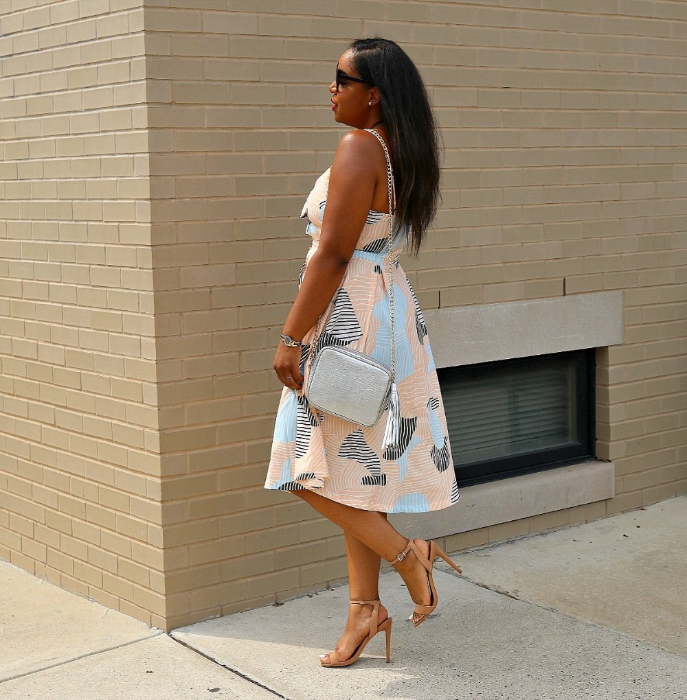Midi Dress, Summer Fashion