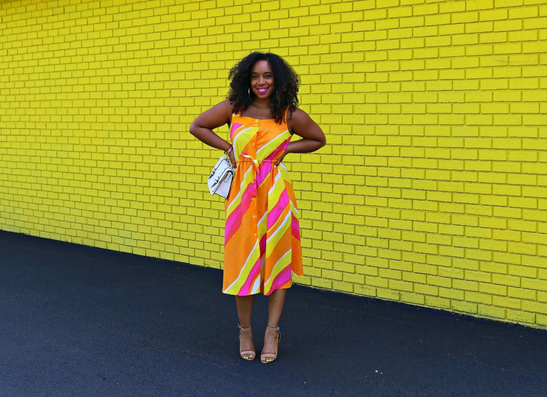 Vintage Colorful Dress