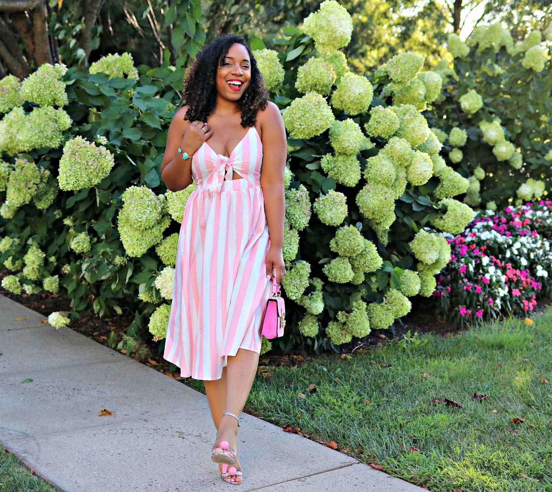 Summer Fashion, Pink Dress