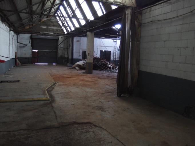 The interior to Unit 4 pre-demolition.