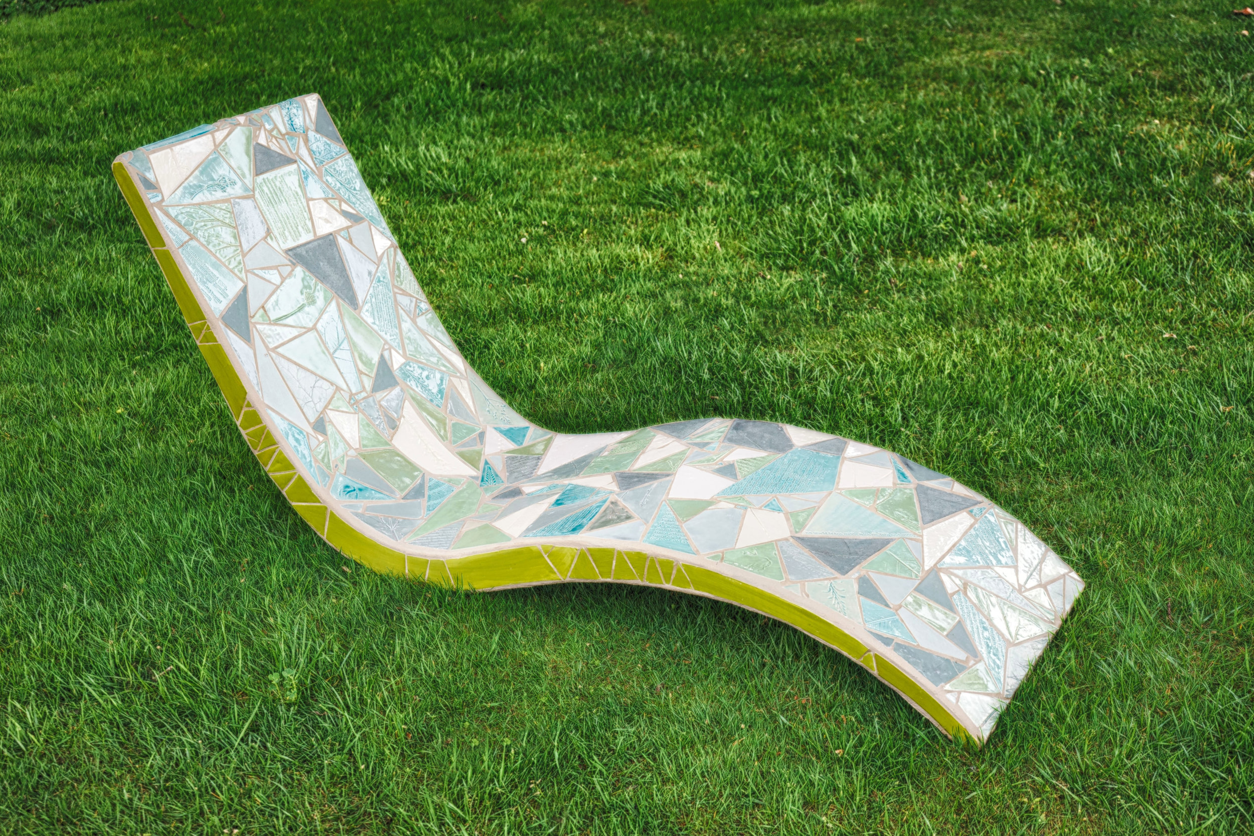 """Doorway"" tile chaise lounge"
