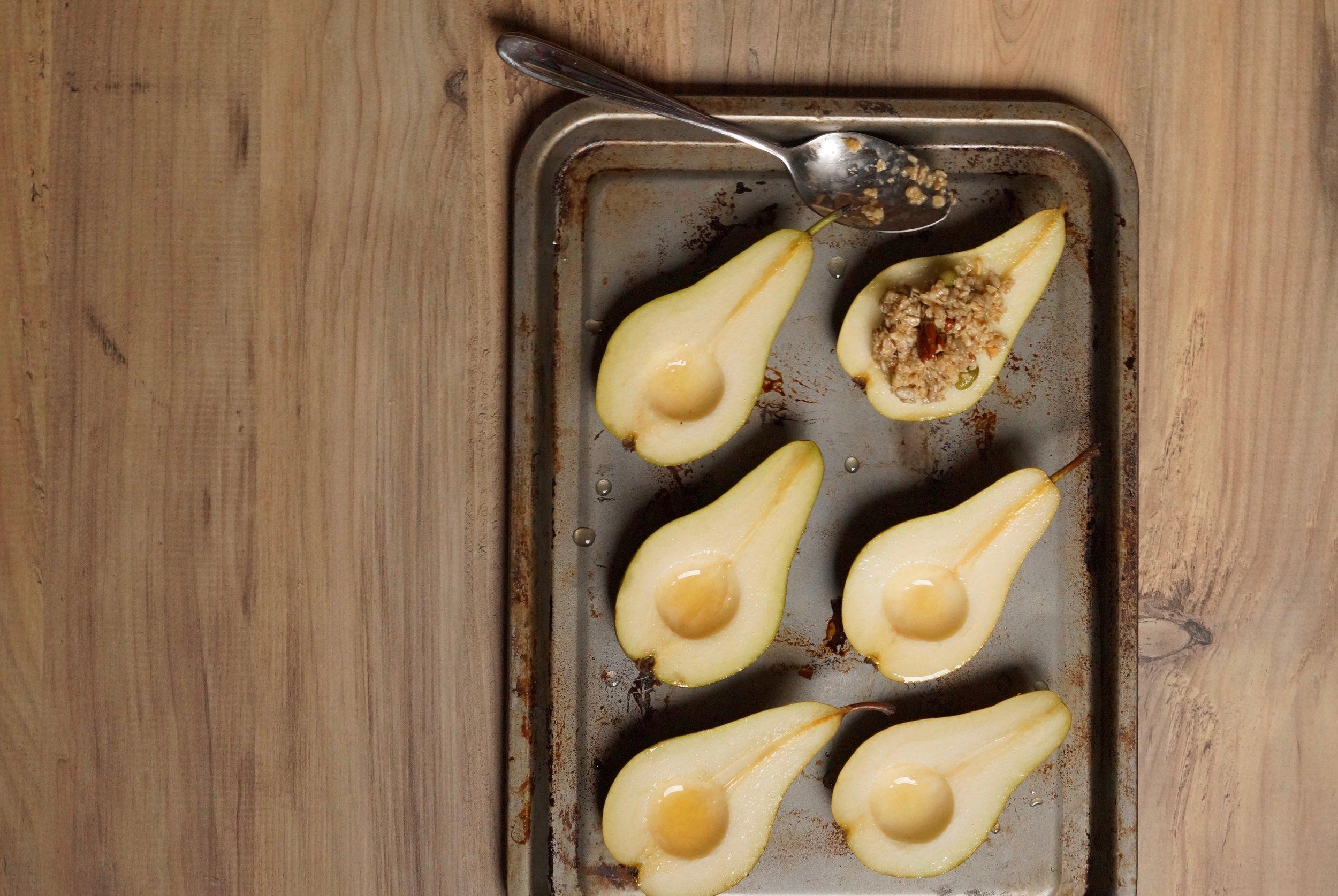 granola and maple stuffed pears.jpg