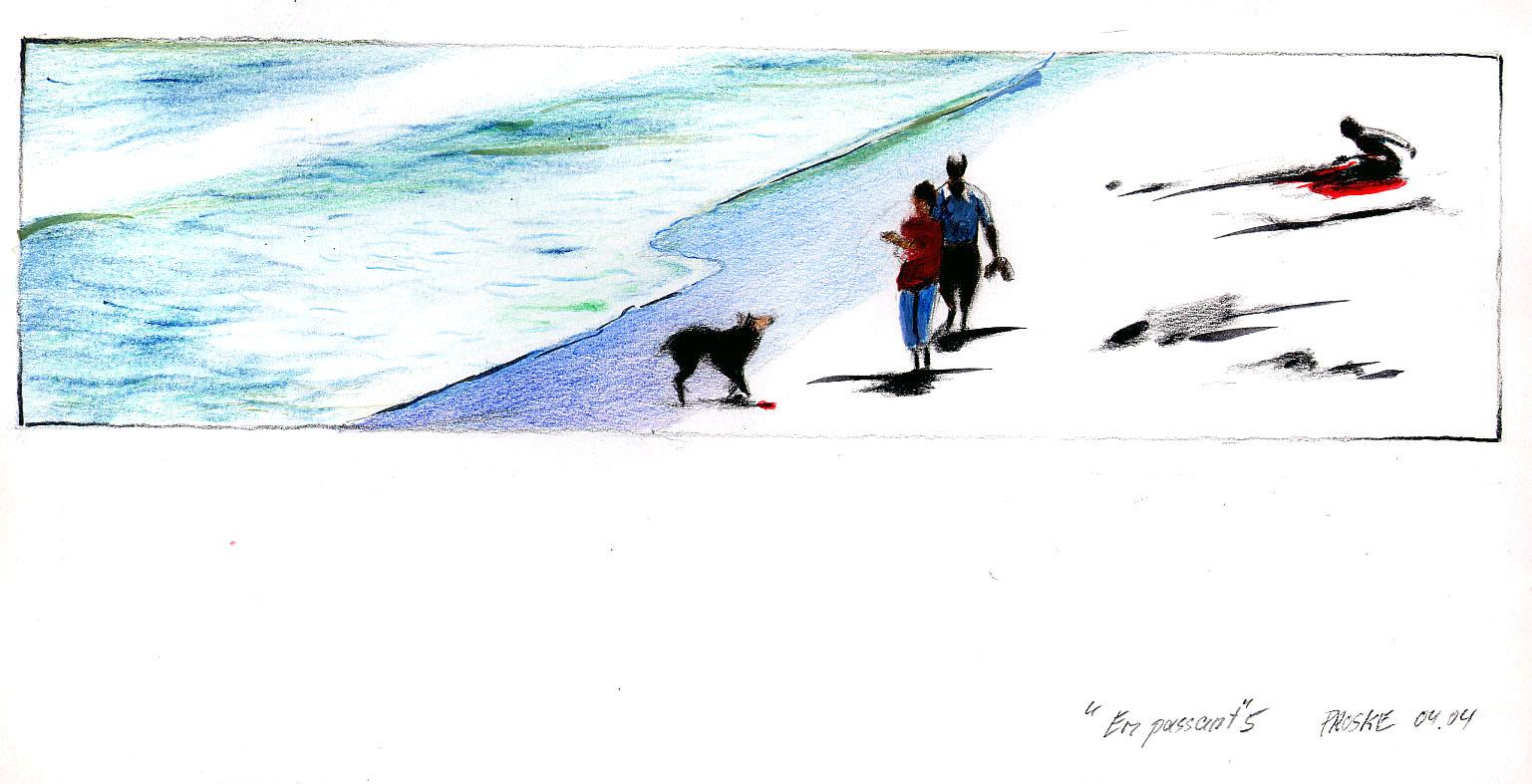 en passant 5,30 x 40. Farbstift:Papier, 2004.jpg