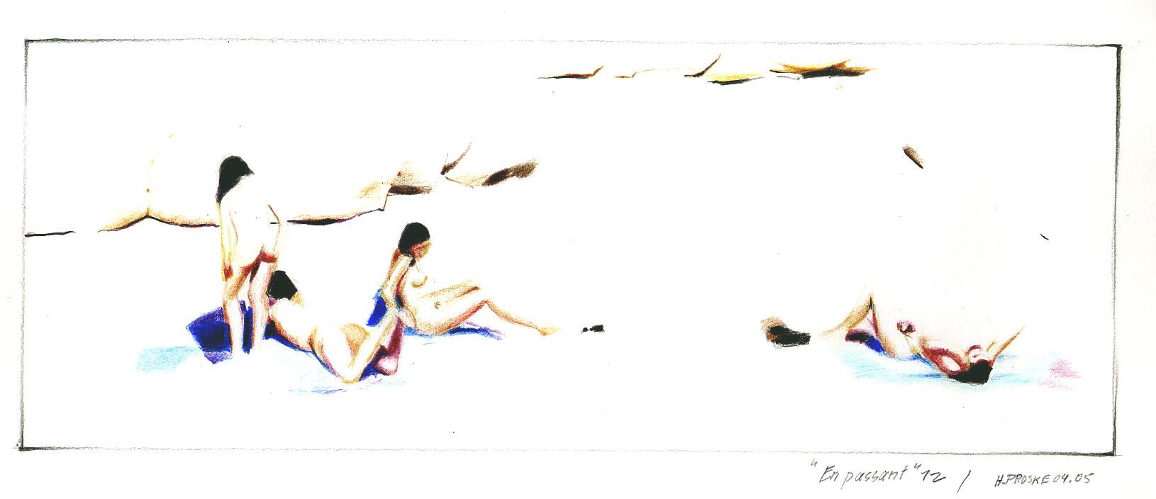 en passant 12,30 x 40. Farbstift:Papier, 2004.jpg