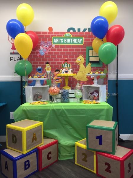 elemeno birthday party