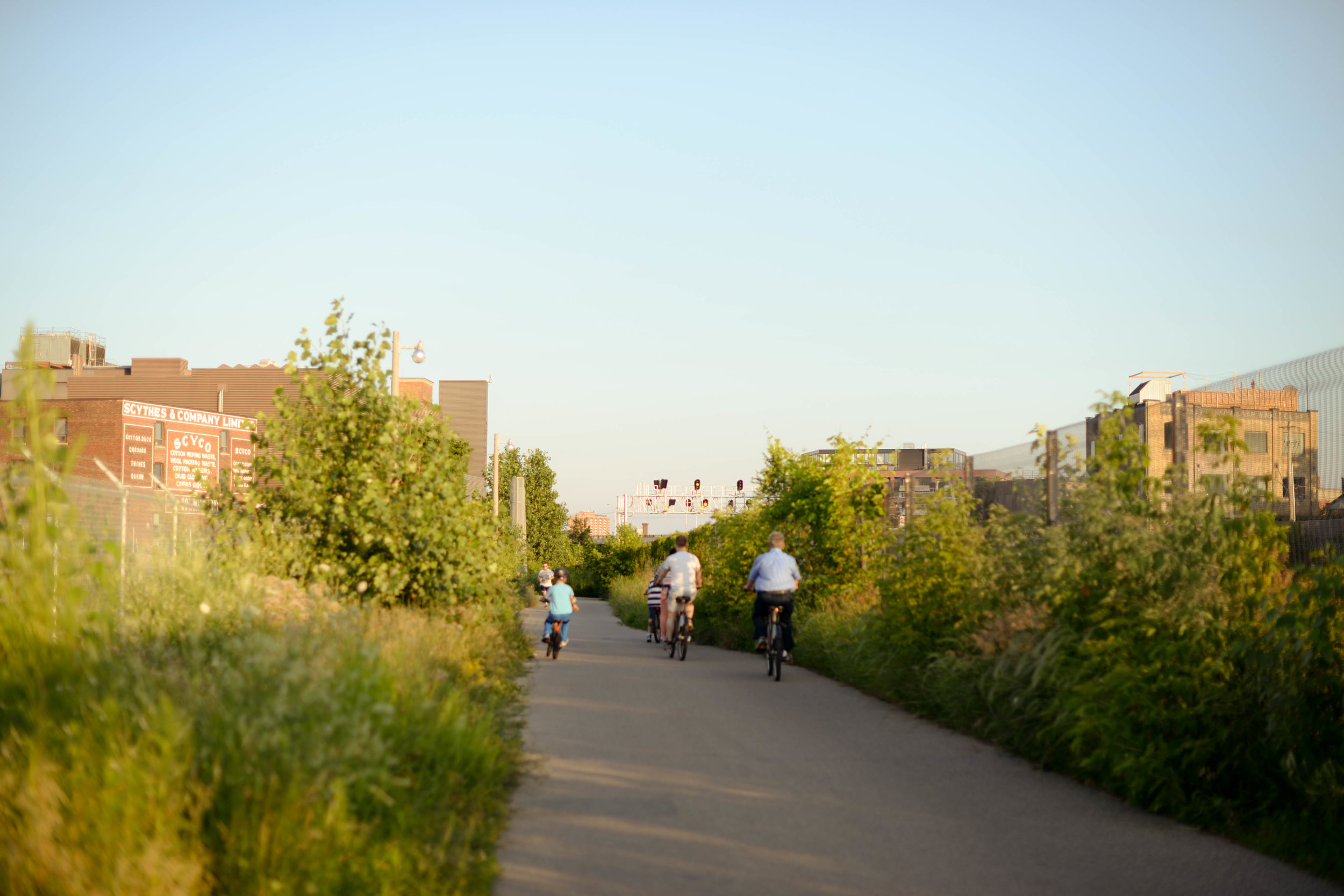 The Friends of the West Toronto Railpath is a volunteer group committed to expanding, protecting and improving the WTR, a 2 km multi-use trail that connects Toronto's West End. -