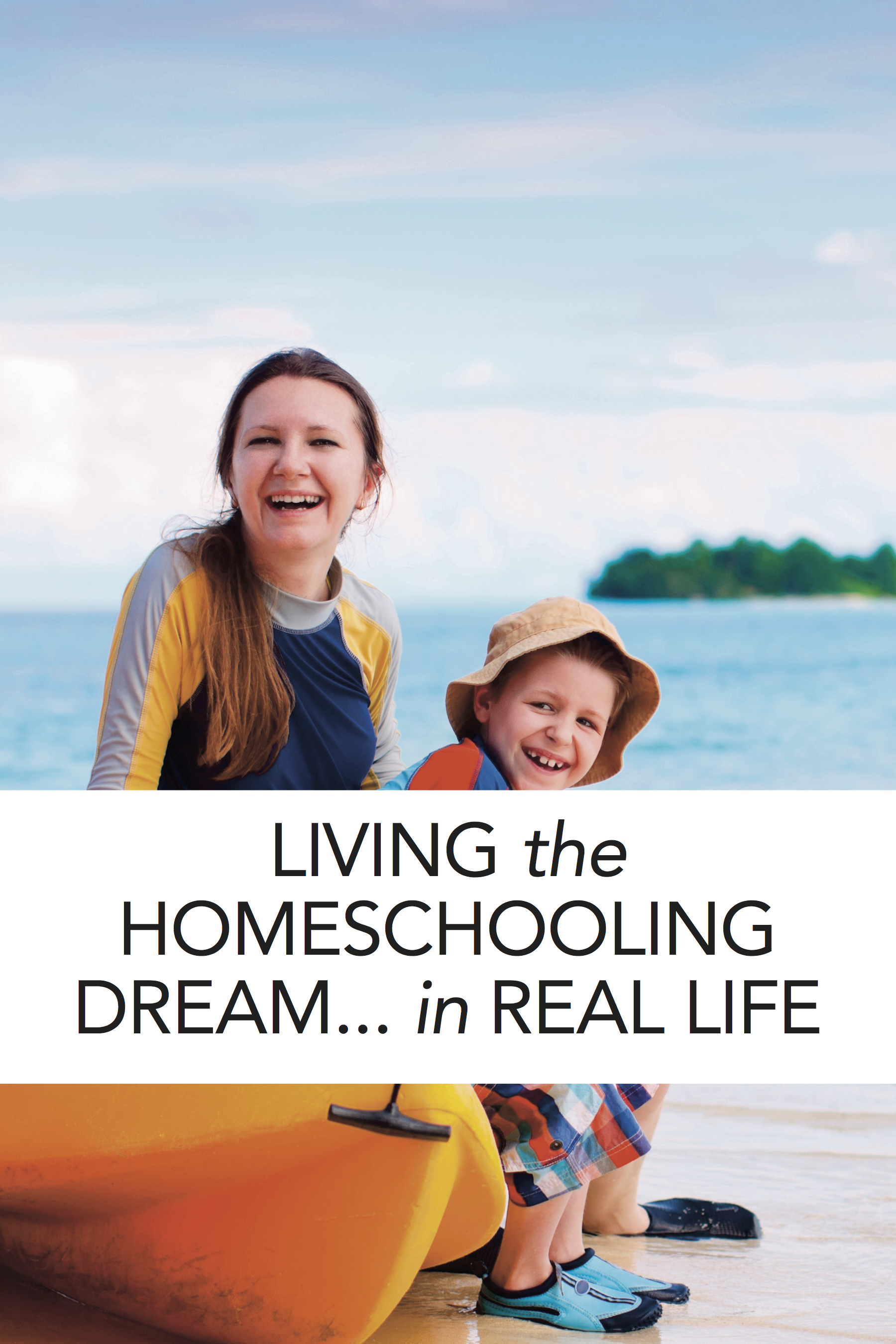 Homeschool dreams vs homeschool reality--great read about loving the life you're in!