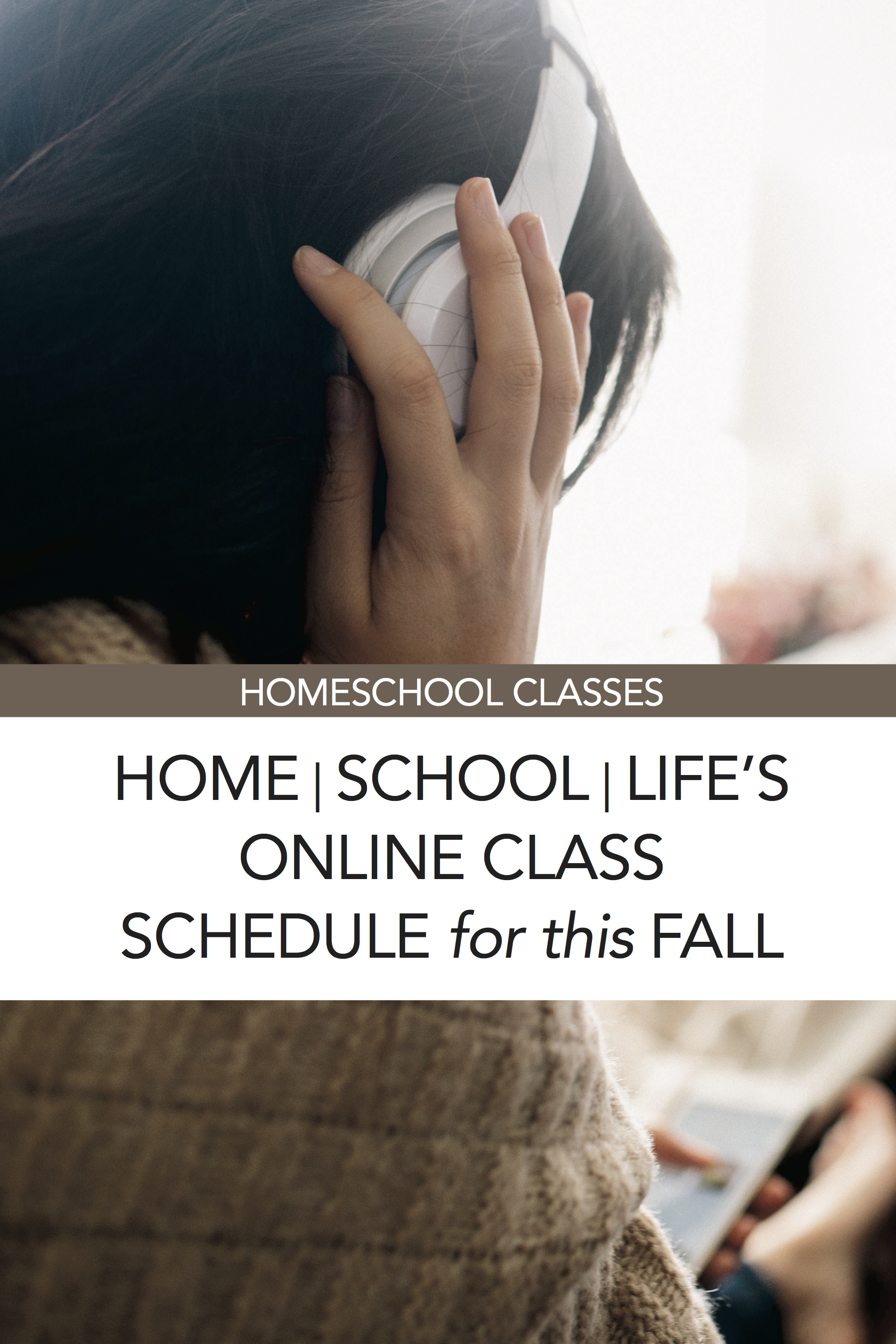 home/school/life magazine's online homeschool classes for fall! :)
