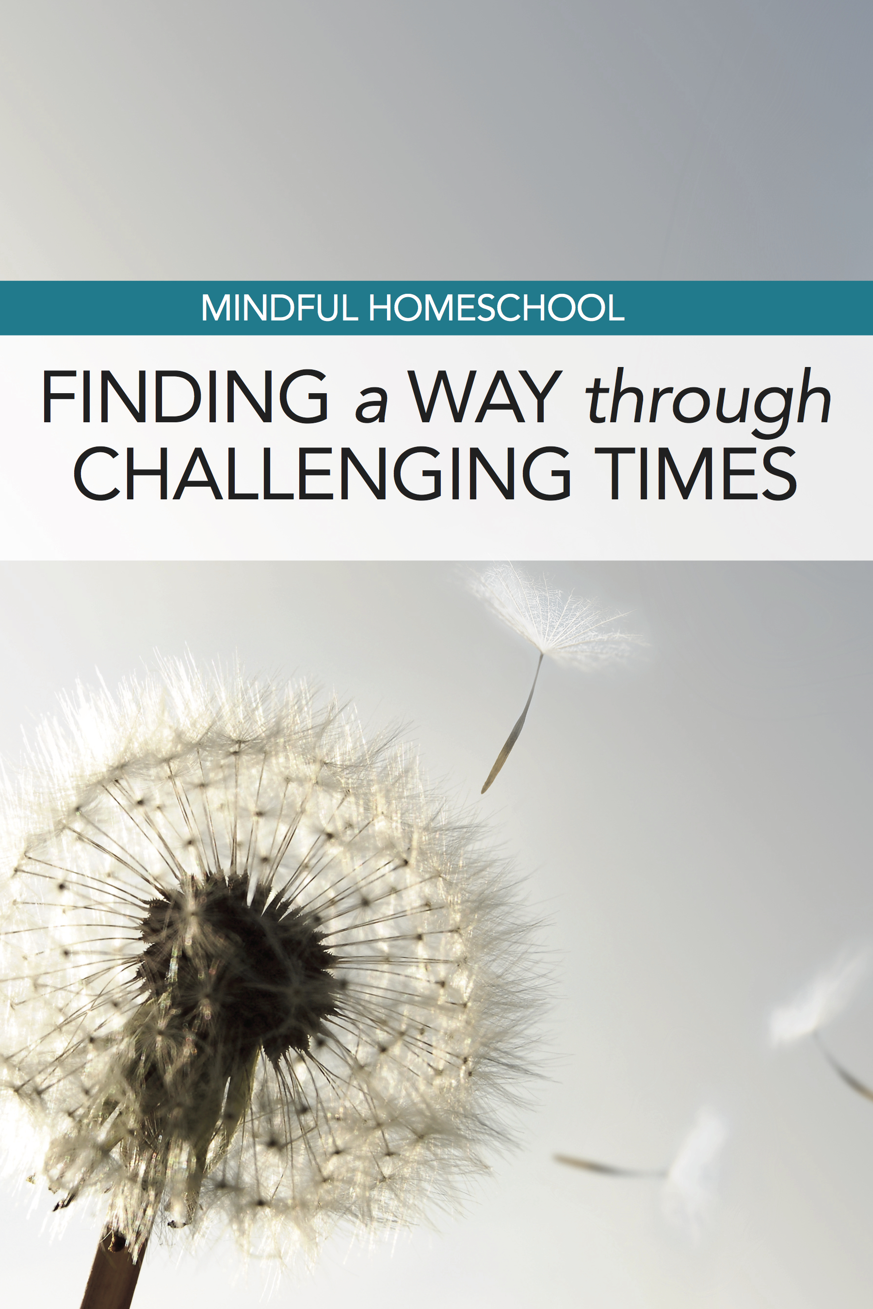 Mindful Homeschool: Finding a Way Through Challenging Times