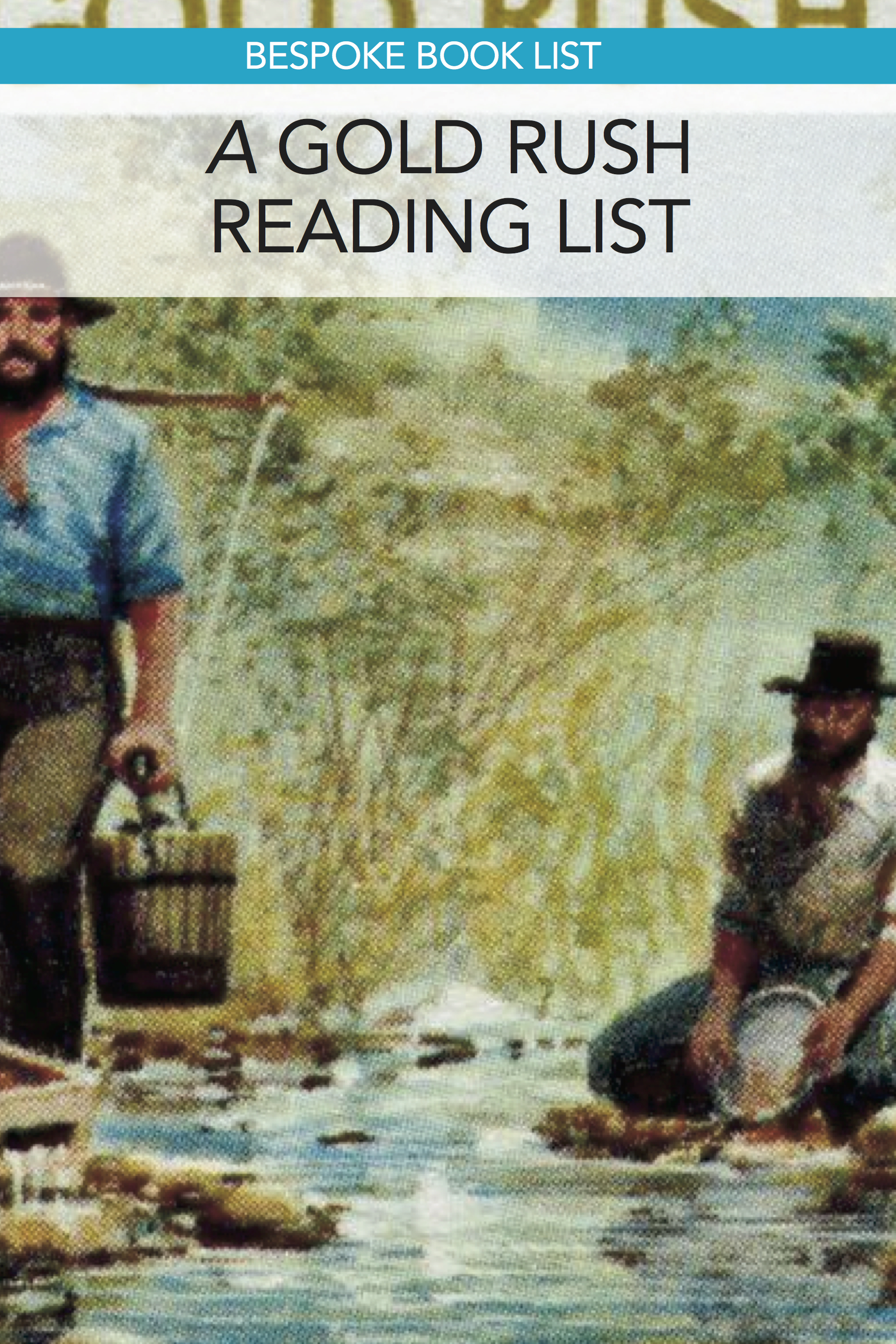 Great list of fiction and non-fiction books about the California Gold Rush. #homeschool