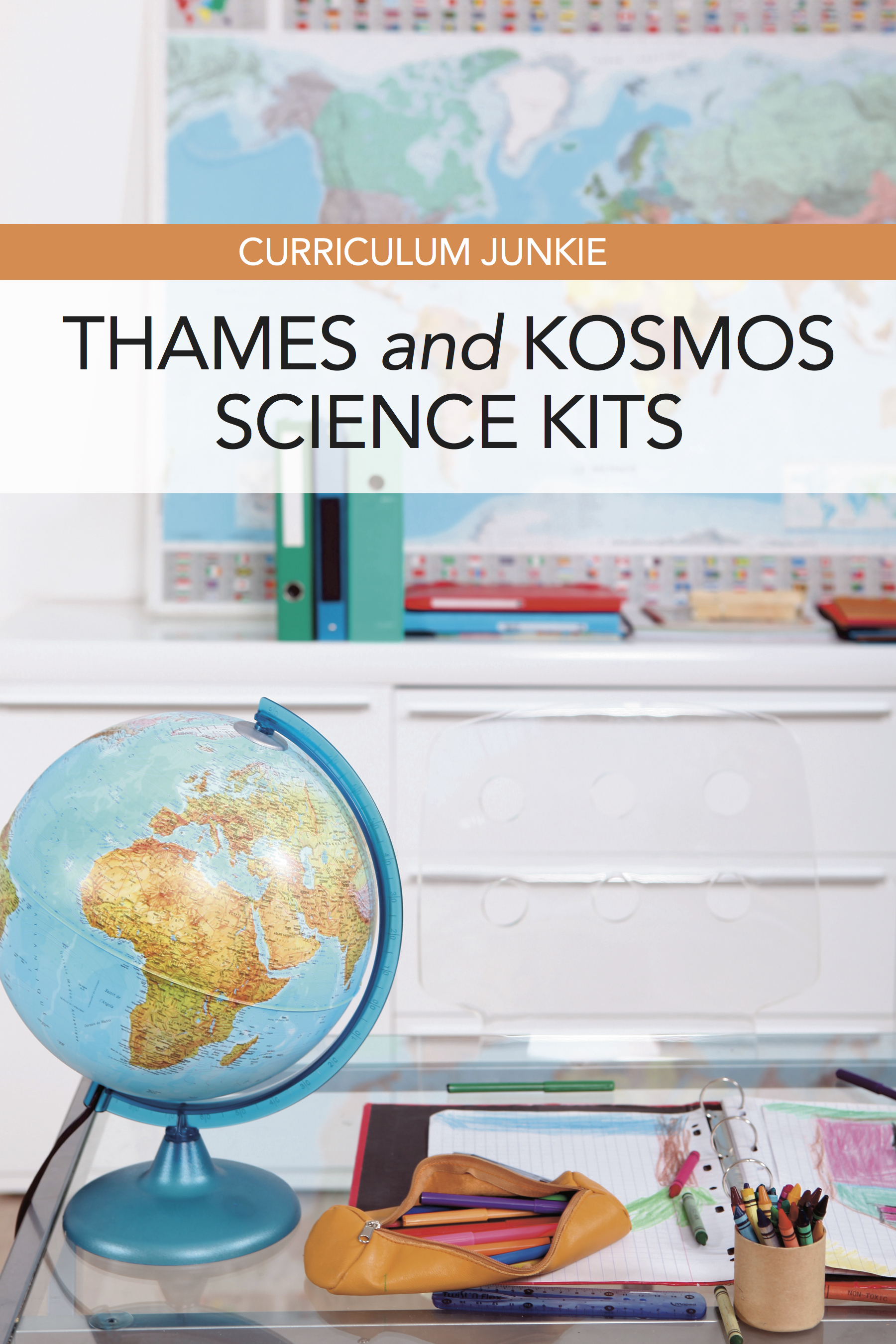 Homeschool science kits: These experiment science kits from Thames & Cosmos would be great for elementary and middle school science activities.