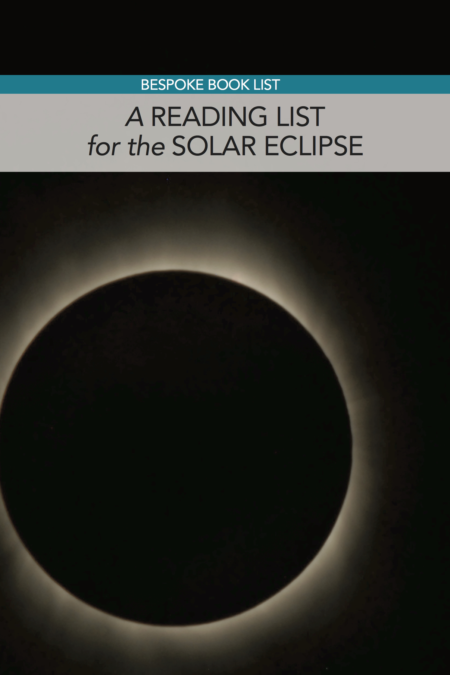 Bespoke Book List: Books about the Solar Eclipse