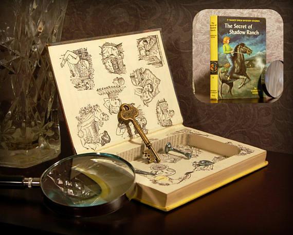 Nancy Drew Hidden Book Safe