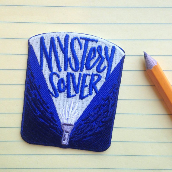 It's the Mystery Solver Patch!