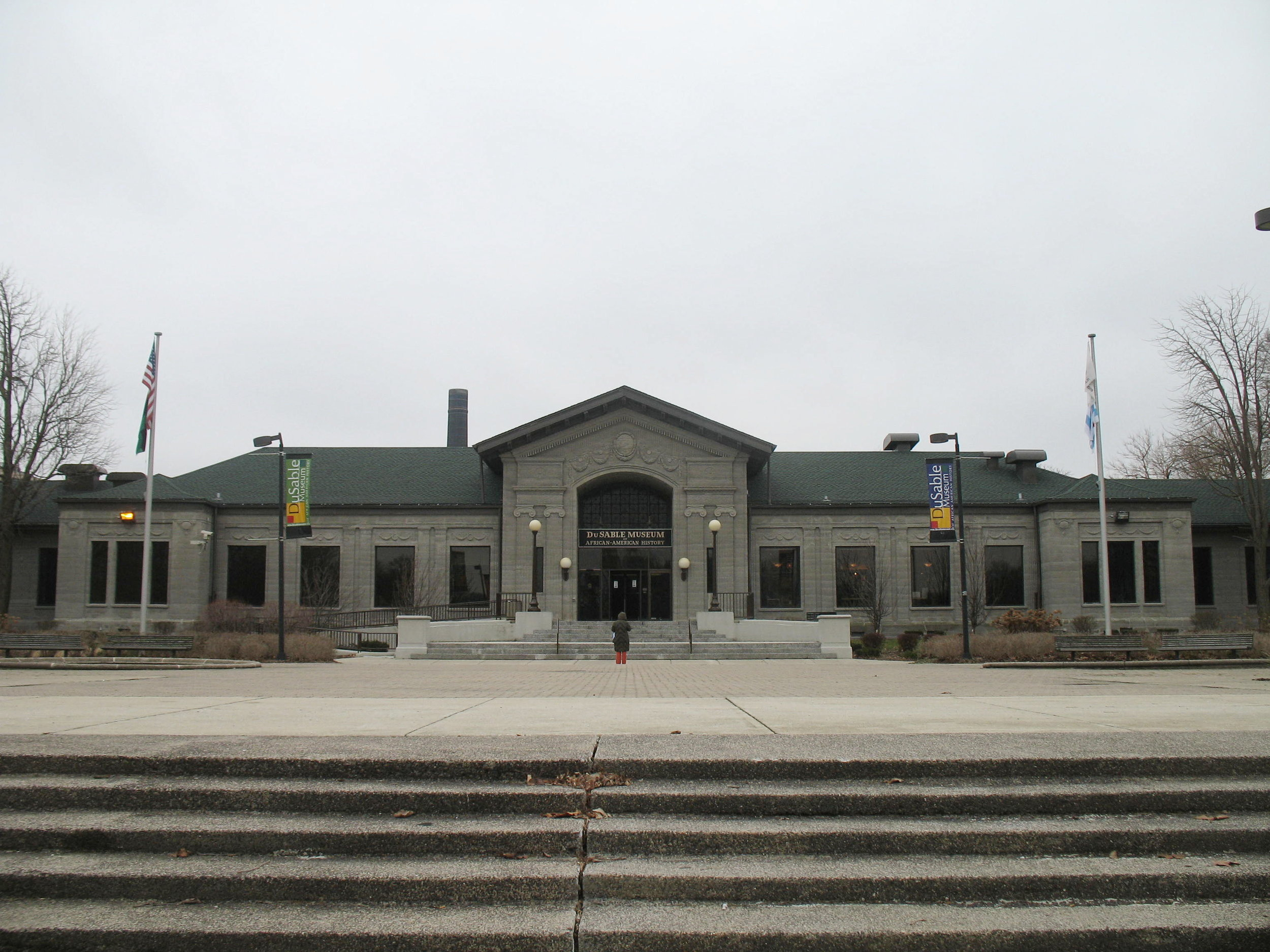 Chicago's DuSable Museum of African American History (Photo: Wikimedia Commons)