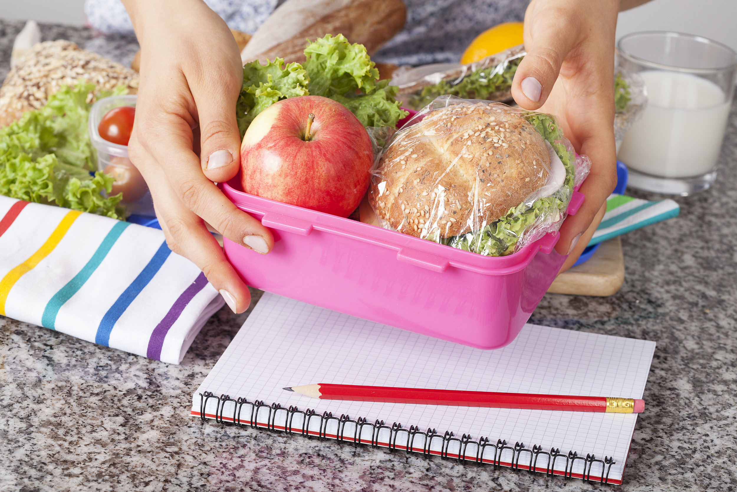 Four Easy Ways to Homeschool Lunch