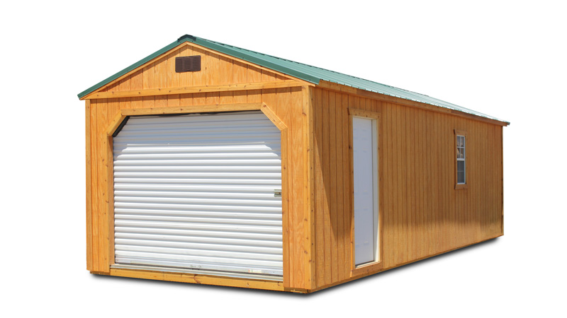 Portable Stained Garage