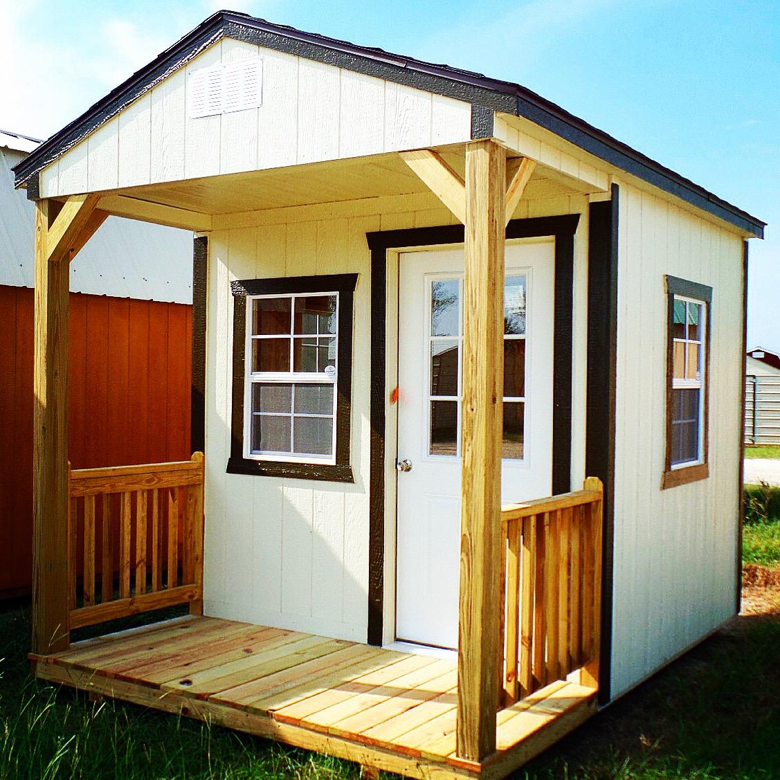 Cumberland Buildings - white cabin
