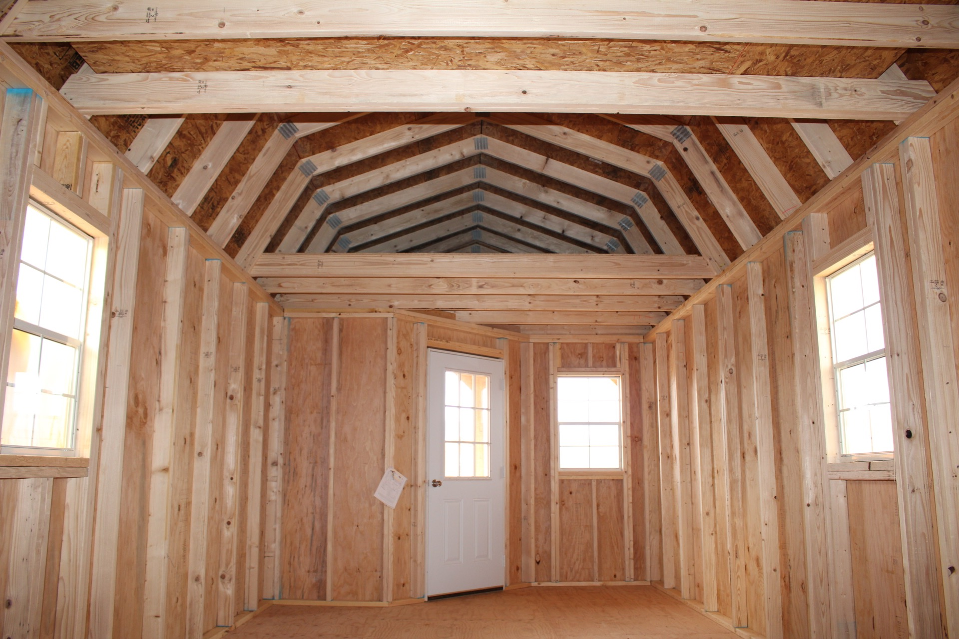Each Deluxe Lofted Barn Cabin comes with 2 loft spaces!