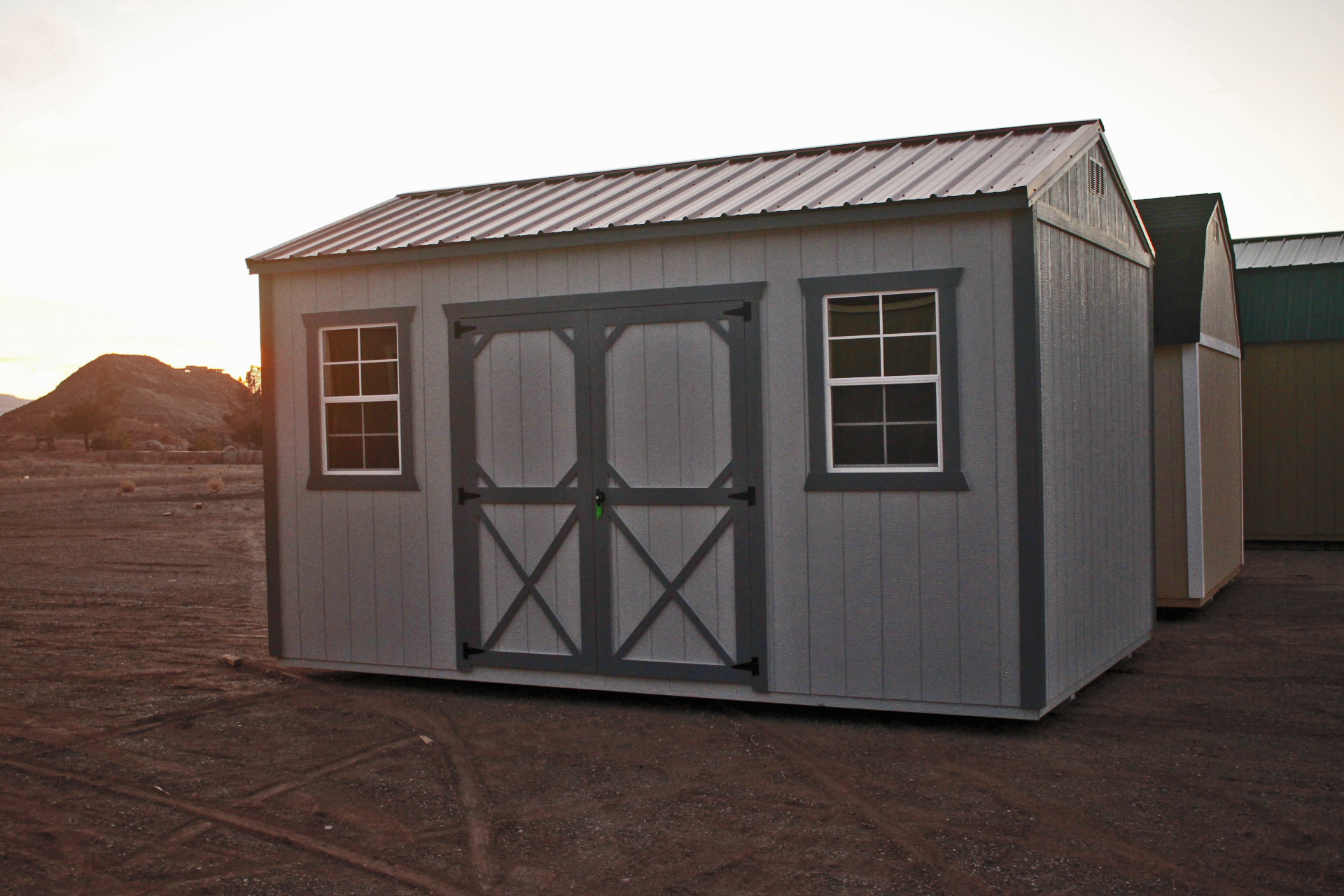 side utility storage shed