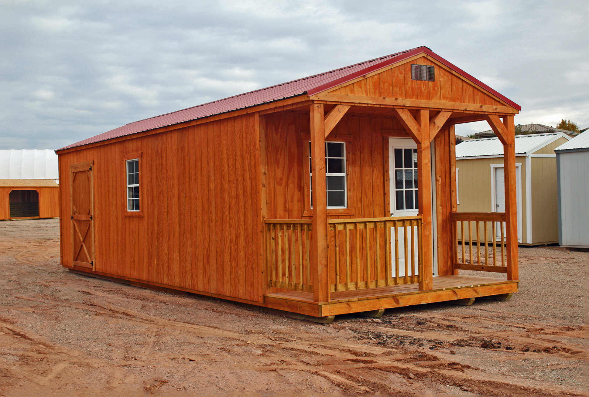 Stained Cabin shell