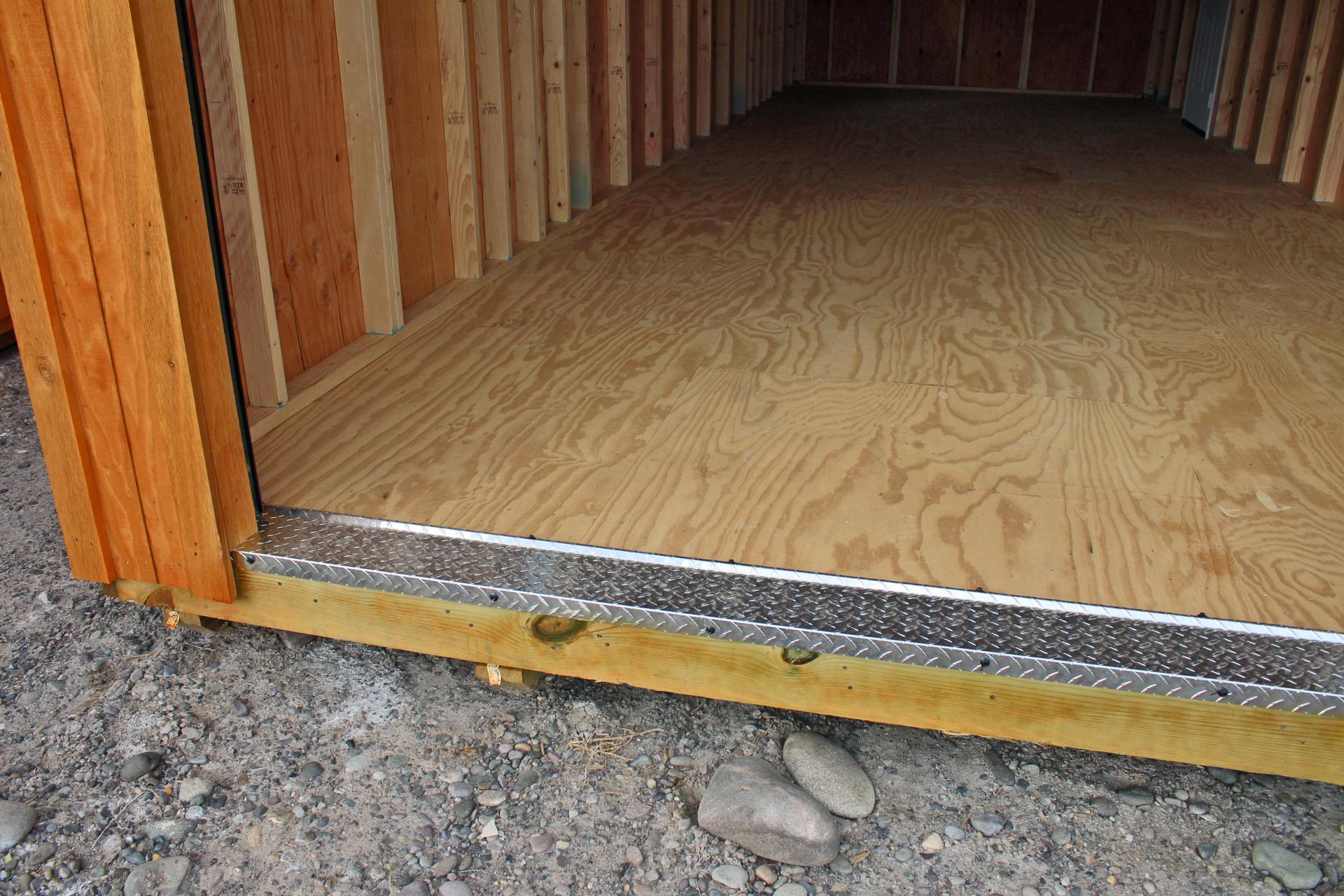 Heavy Duty Diamond Plate Garage floor