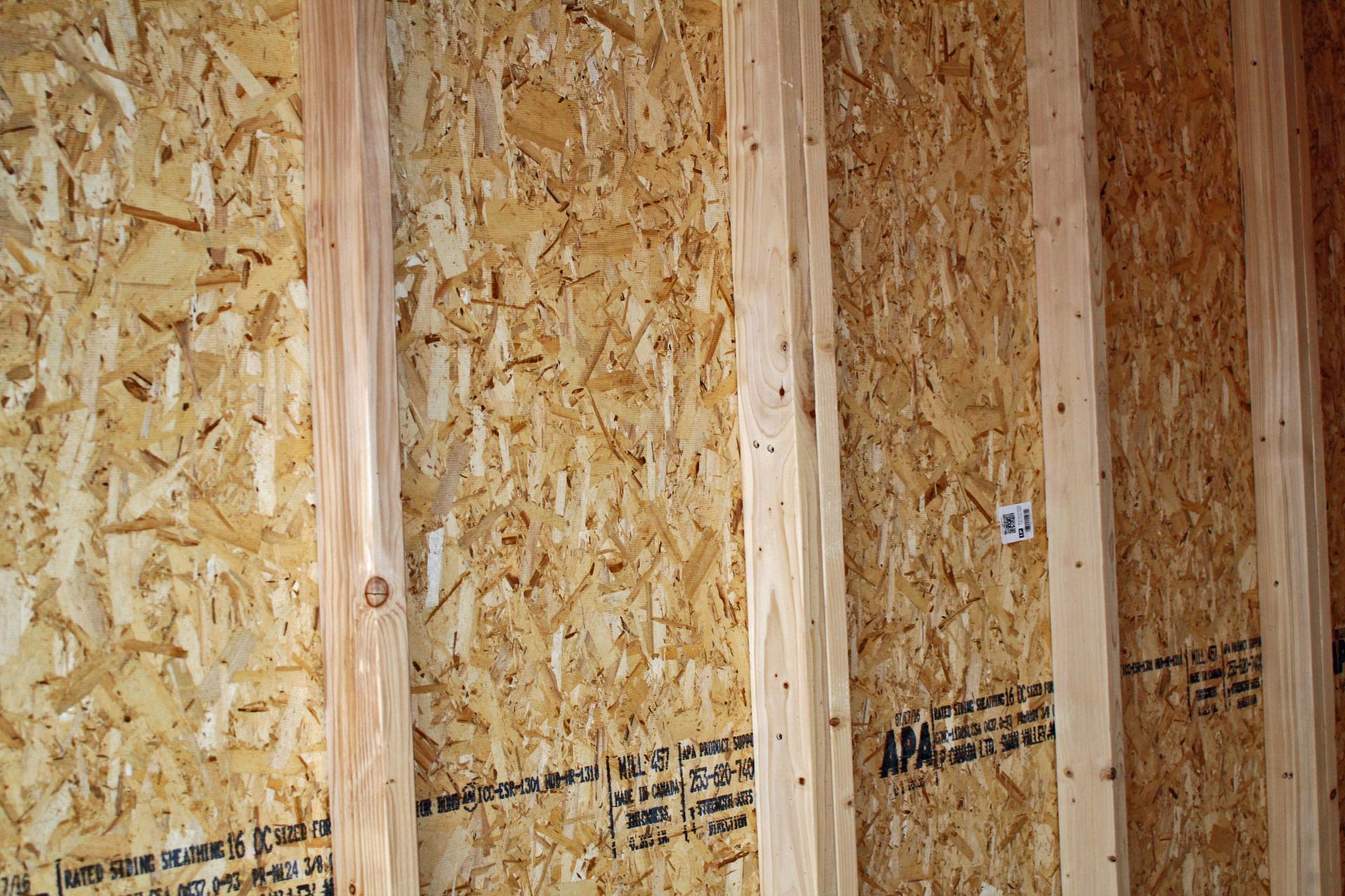 Garage wall studs