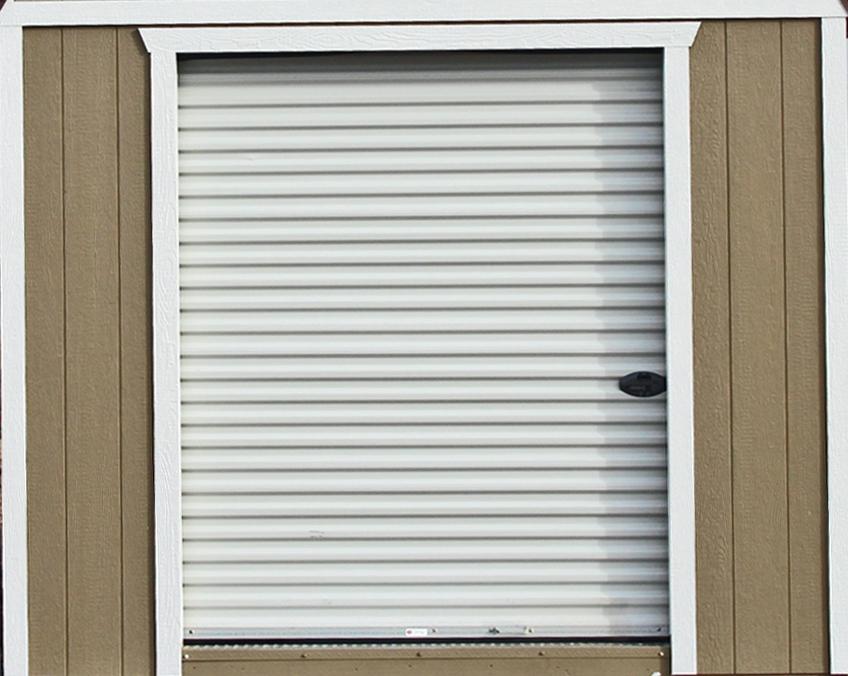 6 Ft Roll-Up Garage Door