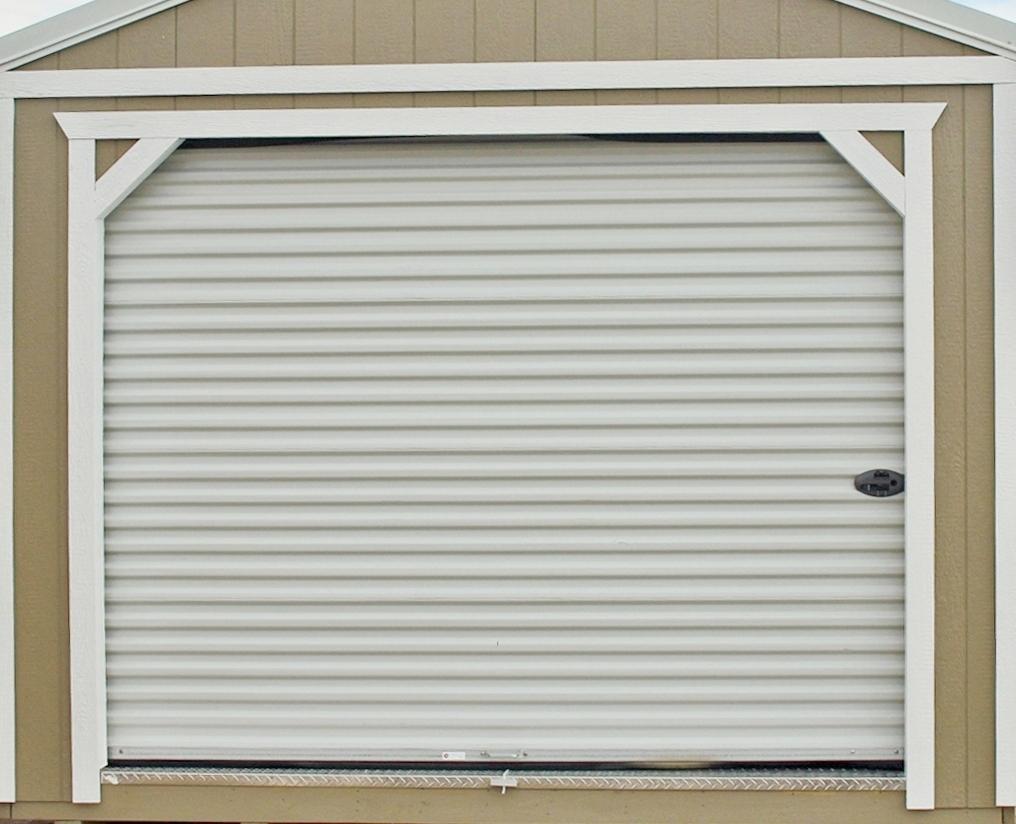 9 Ft Roll-Up Garage Door