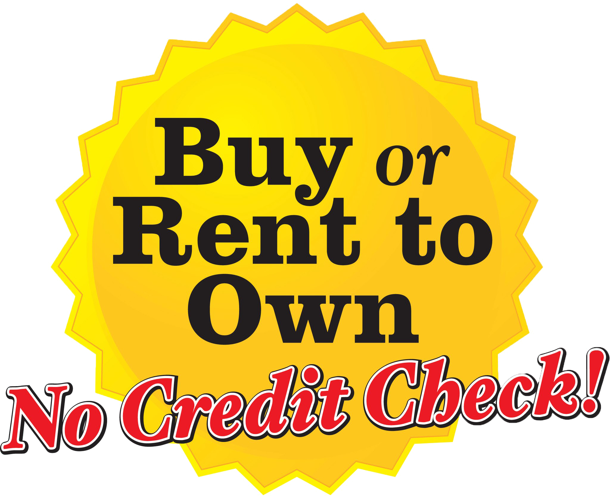 Buy or Rent to Own with No Credit Check
