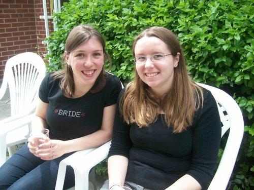 J'ai rencontré Julie lors de ma première journée à l'Université d'Ottawa en 2005. Nous sommes amies depuis.
