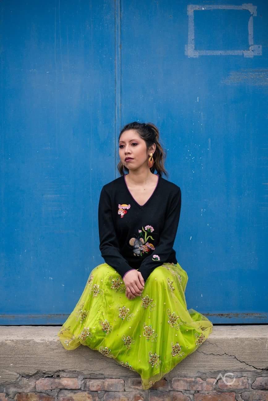 Model: Jenny Valle, Photographer: Alex Callejo, Fashions: Discover Mélange