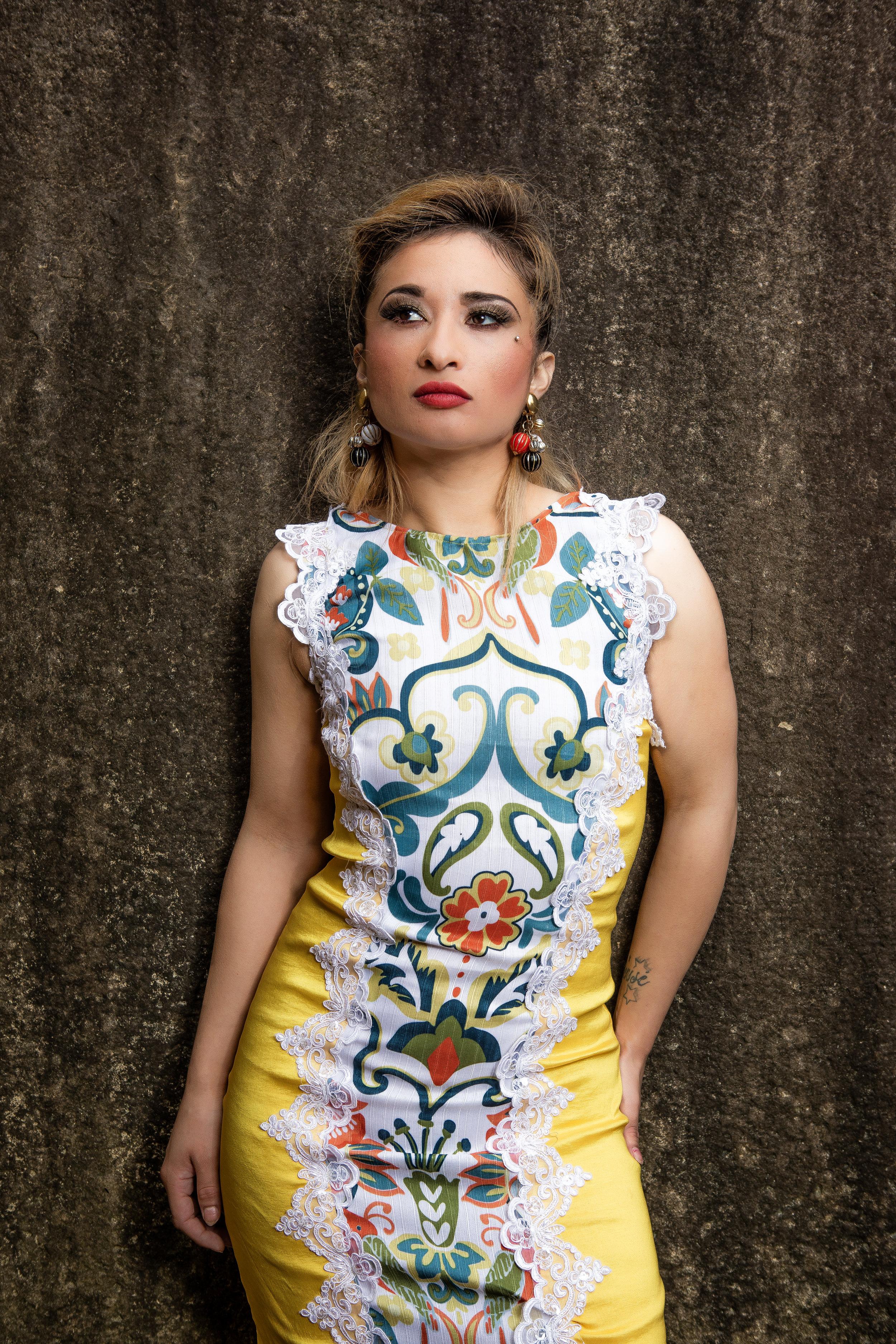 Photographer: Gio Sosa, Sparklez Damariz, MUA: Jenny Soto, Hair: Ruthy Escobar, Designer: Mario & Jorge