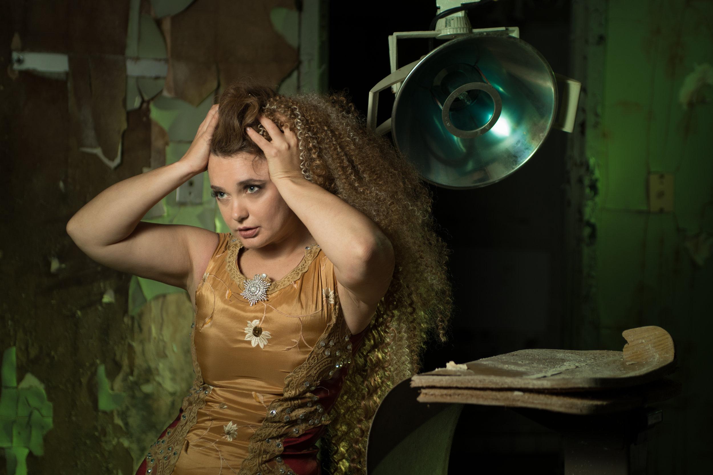 Photographer: Homan Wong, Model: Olha Vayda, MUA: Samantha Terry, Hair: Bianca Naranjo. Designer: Mario & Jorge