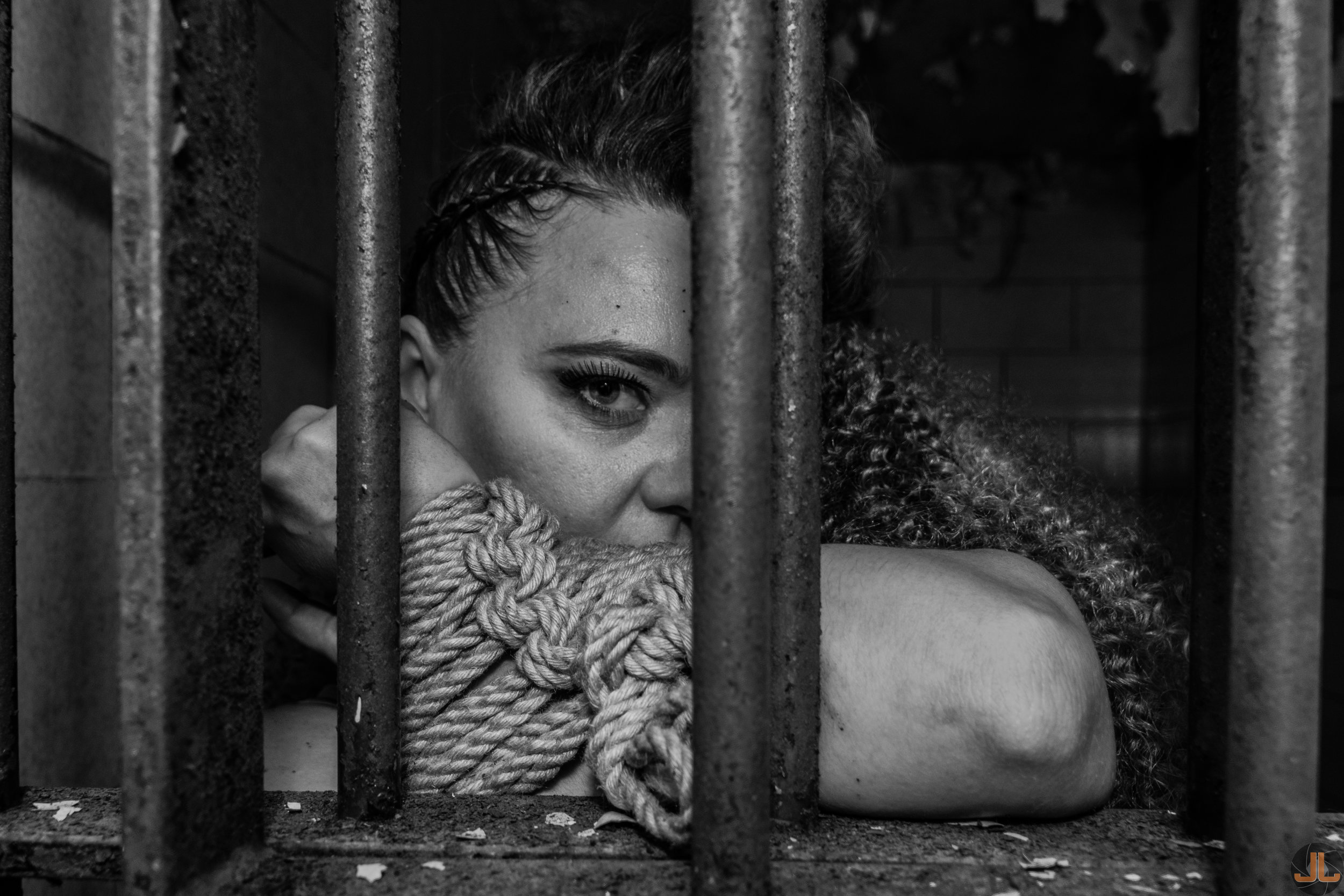 Photographer: Joshua Luttenberger,, Model: Olha Vayda, MUA: Samantha Terry, Hair: Bianca Naranjo. Designer: Mario & Jorge, Rope Work: Solomon Leviticus Abrams